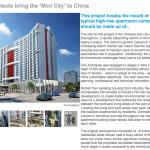 Mini city design Guangzhou China by Cox Architects